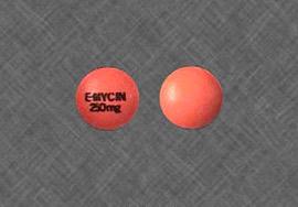 Ilosone Erythromycin 250, 500 mg