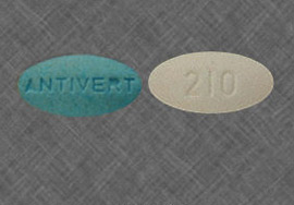 Antivert Meclizine 25 mg