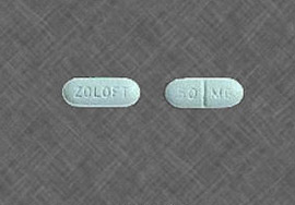 Zoloft Sertraline 25, 50, 100 mg
